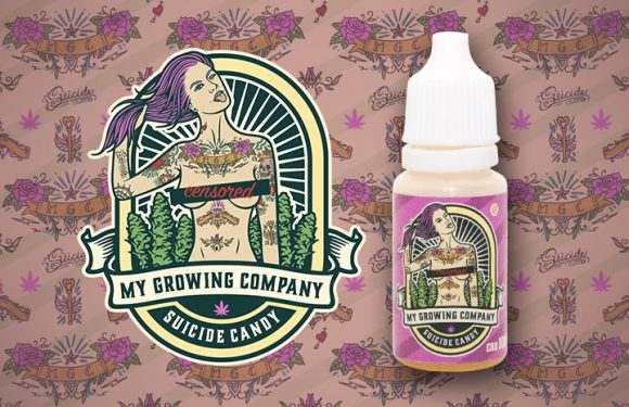 suicide candy pink plant e-liquid cbd my growing company