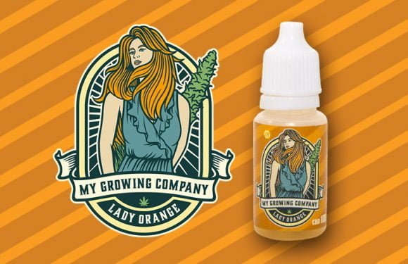 Lady Orange E-liquid CBD 10 ml 1
