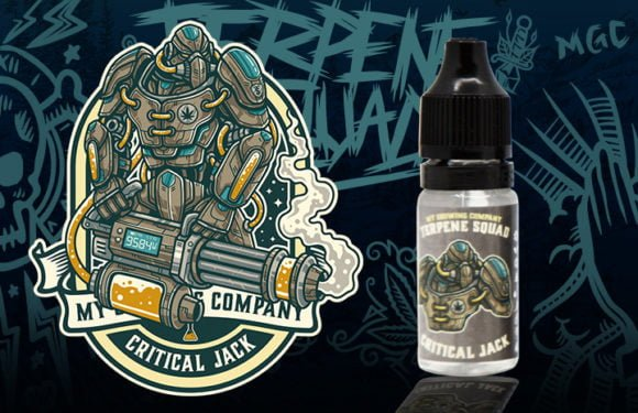 Critical Jack - CBD + Terpene e-liquid 1